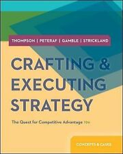 Crafting and Executing Strategy by Thompson 19th Intl Softcover Ed Same Book