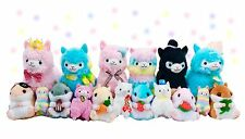 Most Kawaii Plush Bundle Cute Plushies Surprise Alpaca Hamster Rainbow Llama