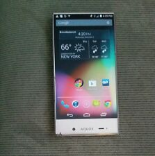 Sharp Aquos Crystal 306SH White (Boost Mobile) Very Good Condition* Clean ESN!