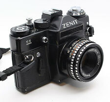 Zenit 11 35mm SLR Russian Zenith Camera with 50mm lens and case – VGC & Tested