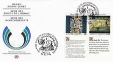 United Nations 1992 Human Rights Series Unadressed(3) FDC