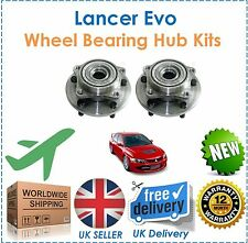 Fits Mitsubishi Lancer Evo 4 5 6 2.0 1997 2000 2 Front Wheel Bearing Hub Kits!