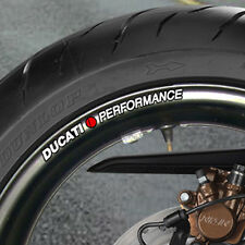 Ducati Performance Wheel Rim Stickers 999 996 749