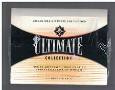 2005-06 Ultimate Collection Factory Sealed Basketball Hobby BOX 4/PACKS Paul RC