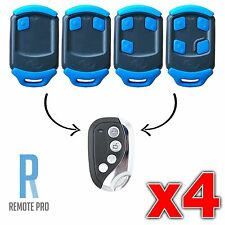 4 x Centsys/Centurion NOVA Blue Gate/Garage Remote Control Replacement