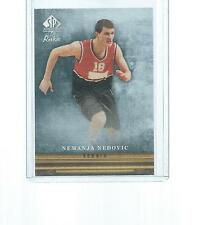 2013-2014 SP AUTHENTIC BASKETBALL CANVAS COLLECTION NEMANJA NEDOVIC ROOKIE #CC49