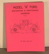 1928 1929 1930 1931 Model A Ford Restoration Handbook Vols 1&2