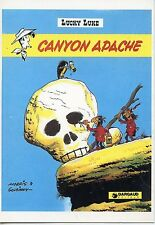 POSTCARD / CP / ILLUSTRATEUR MORRIS & GOSCINNY / LUCKY LUKE / CANYON APACHE