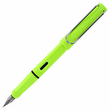 Lamy Safari 2015 Special Edition - Neon Lime Extra Fine Point Fountain Pen L43EF