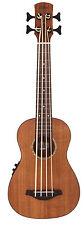 Laka Ukulele Bass - Electro-Acoustic - Acacia Koa