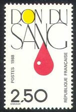France 1988 Medical/Health/Blood Donation 1v (n30392)