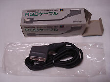 Nintendo Super Famicom RGB SCART Cable Official Genuine Japan
