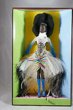 MBILI BARBIE DOLL by BYRON LARS - #2 in TREASURES OF AFRICA SERIES NEW NRFB