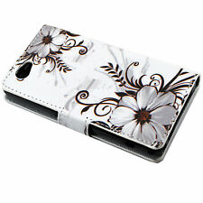Stand Design Wallet Cover Phone Pouch Case For Sony Xperia Z1 Compact Z1 mini