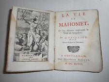 LA VIE DE MAHOMET.Par H.Prideaux.Enrichie de 9 gravures en taille-douce.1698.