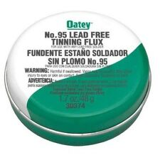 New Oatey 30373 No. 95 Lead Free Tinning Flux With Brush *