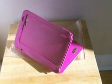 DURAGADGET - PINK LEATHER CASE / STAND FITS SAMSUNG GALAXY TAB. 7""