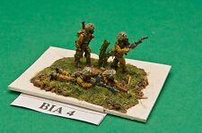 SGTS MESS BIA4 1/72 Diecast WWII British Indian Army Sikh Bren Gun Teams Moving+