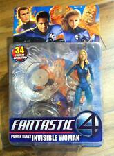 Toy Biz Fantastic 4 Power Blast Invisible Woman
