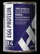 Organic Egg White Powder - EGG PROTEIN VANILLA 12oz - Greater Muscle Growth 1C