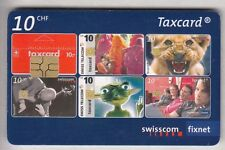EUROPE  TELECARTE / PHONECARD .. SUISSE 10FCH MOSAIQUE TAXCARD 05/10 CHIP/PUCE