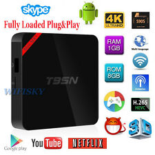 T95N Mini MX+ Plus Amlogic S905 HD 4K Android 5.1 Smart TV Box Quad Core 1GB 8GB