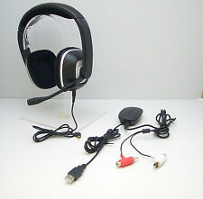 Plantronics GameCom X95 Black Headband Headsets for Microsoft Xbox 360 Tested OK