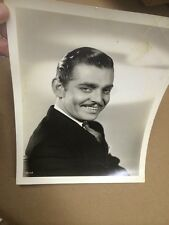 1936 Original Photo CLARK GABLE Star Actor- Gone With The Wind Fame 8 X 10