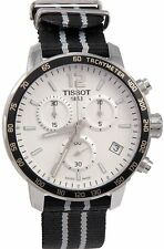 TISSOT QUICKSTER SPURS NBA SPECIAL EDIT. SILVER DIAL MEN'S WATCH T0954171703707