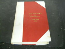 Society of Colonial Wars in the State of New Jersey 1955 Year book