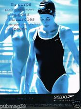 Publicité advertising 1998 Les Maillots de bain Speedo