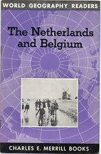 Vintage 1954 Netherlands and Belgium Info Booklet - Charles E. Merrill Books