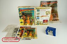 Amiga * Indiana Jones and the Fate of Atlantis * OVP con instrucciones y carteles cib!