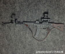 """WW2 MP44 with curved barrls 1/6 scale ZY Toys Miltary Model StG44 Fit 12"""" figure"""