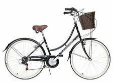 "CLASSIQUE TRADITIONAL HERITAGE LADIES DUTCH LIFESTYLE BIKE BLACK 16"" 44% OFF"