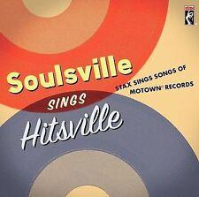 Soulsville Sings Hitsville Stax Sings Songs of Motown Records various artists CD