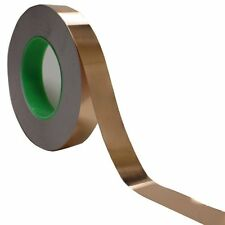 """Copper Foil Tape - 1"""" x 55 Yds -  EMI Conductive Adhesive / Ship from USA"""