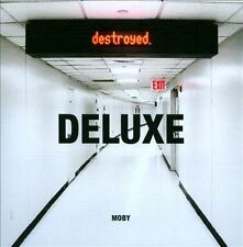MOBY-DESTROYED (W/DVD) (DLX) CD NEW