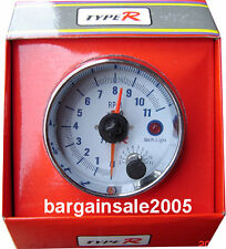 "3 3/4"" Tachometer & Shift Light, 11KRPM, Tacho 4,6,8"