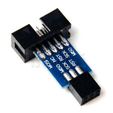 10 Pin to Standard 6 Pin Adapter Board For ATMEL AVRISP USBASP STK500 MA
