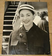 MARGOT FONTEYN IN DUBLIN FLEET STREET VINTAGE PRESS PHOTO 1957