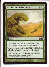4x Rampant Growth / Wucherndes Wachstum (10th/M10/M12) Land search