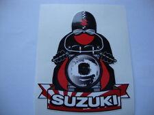 """2 Susuki de 3,5 """"pegatinas Isle Of Man Tt Cafe Racer Kawasaki Moto Yamaha"""
