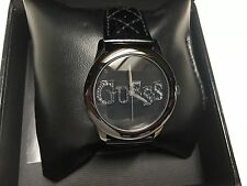Guess Women's Watch Quilted Leather Band