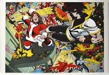 LEGION Of SUPERHEROES v TOYMAN CHRISTMAS PRINT Karate Kid Brainiac 5 Sun Boy