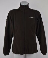 Womens BERGANS of Norway 5811 Lady Park City Brown Fleece Jacket Size L