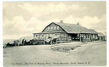 North Salem NY -EARLY AUTO AT TEA HOUSE-PORT OF MISSING MEN-Postcard Titicus Mnt