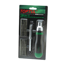 TOPTUL - GAAR1002 19 in 1 High Torque Ratchet Screwdriver (JIS Compatible)