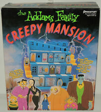 LAST NEW MINT 1992 ADDAMS FAMILY CREEPY MANSION Action Game Pressman Vintage MIB