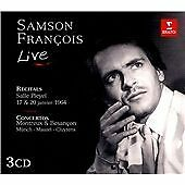 Unknown Artist Samson  Francois Live 3cd Set CD